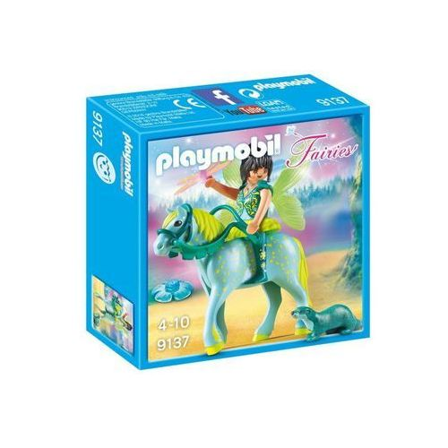 Playmobil FAIRIES Wróżka na koniu aquarius 9137