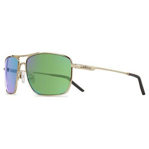 Okulary słoneczne re3089 groundspeed serilium polarized 02 gn marki Revo