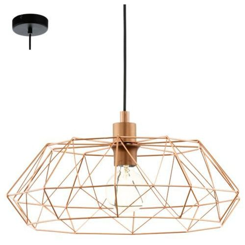 lampa wisząca CARLTON 2 - miedziana, EGLO 49488