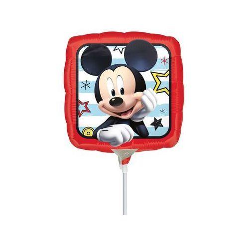 Balon foliowy do patyka - Myszka Mickey - 23 cm