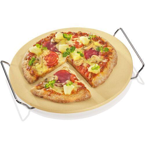 Kamień do pizzy z kordierytu, średnica 30 cm kuchenprofi (ku-1086100030) (4007371055741)