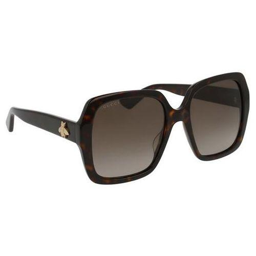 Gucci Okulary słoneczne gg0096s polarized 006