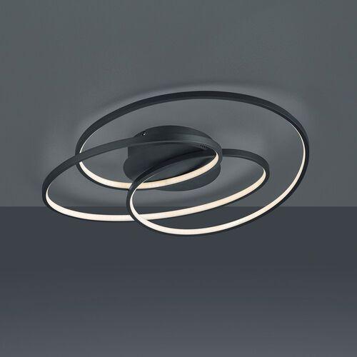 Trio gale 673916032 plafon lampa sufitowa 1x38,5w led 3000k czarny mat