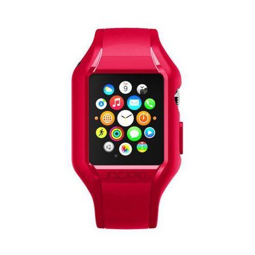 Rovens.pl Incipio NGP Strap - Elastyczny pasek do Apple Watch 42mm (czerwony), WBND-012-RED