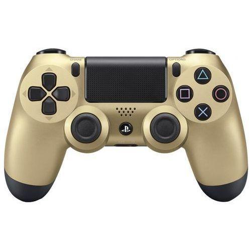 Kontroler dualshock 4 v2 złoty + zamów z dostawą jutro! + darmowy transport! marki Sony