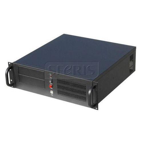 Obudowa serwerowa Gembird ATX 19''/3U, czarna - 19CC-3U-01