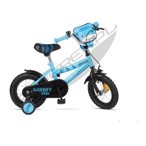 """Accent 600-51-38_acc rower dziecięcy shark 12"""" niebieski"""