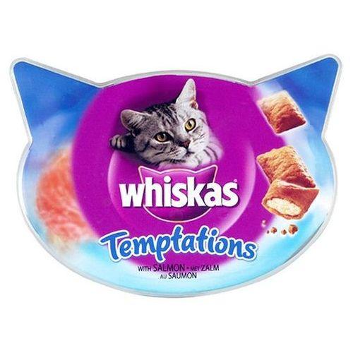 Whiskas Przysmak Temptations łosoś 60g