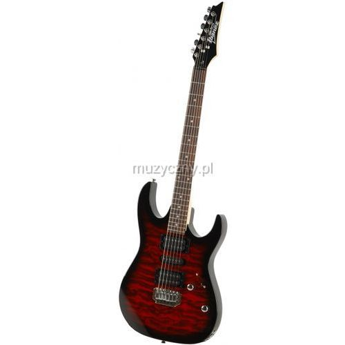 Ibanez GRX 70 QA TRB Transparent Red Burst gitara elektryczna
