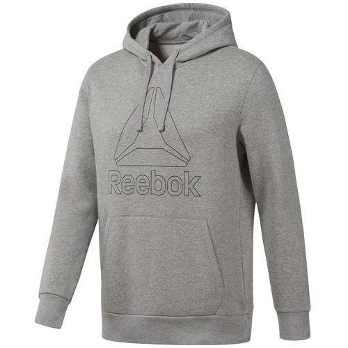Bluza Reebok Big Logo Hoodie CE4746, kolor szary