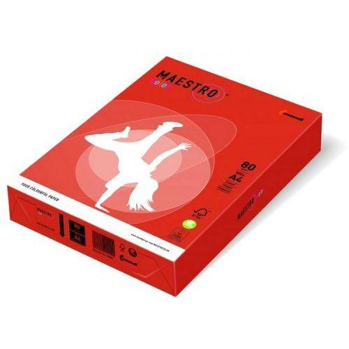 Maestro Papier ksero color a4 80g czerwień ceglasta zr09