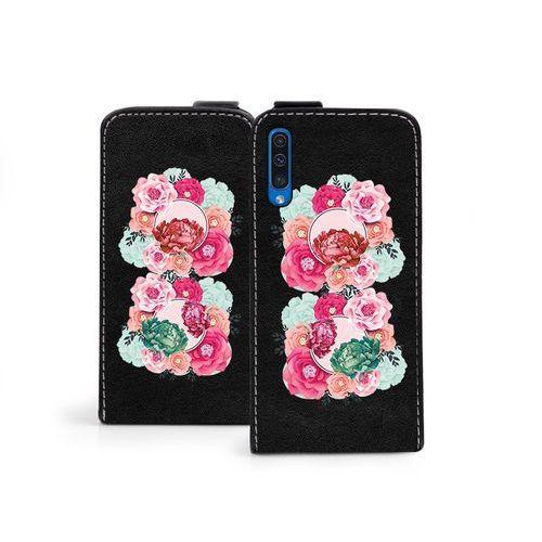 Samsung Galaxy A50 - etui na telefon Flip Fantastic- róże