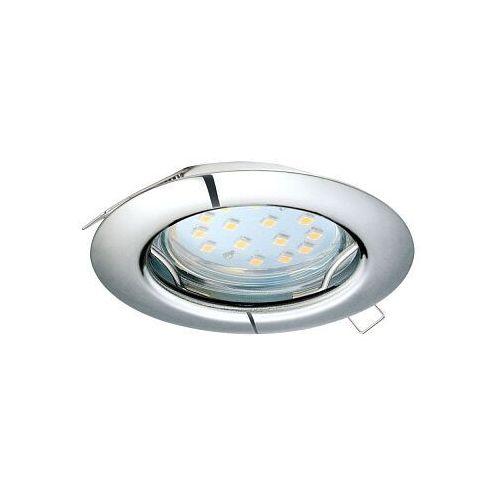 peneto 98646 oczko lampa wpuszczana downlight 1x3w gu10 chrom marki Eglo