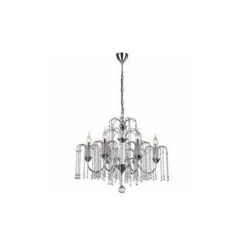 Lampa wisząca zwis Zuma Line Lucas 6x40W E14 chrom/kryształ P0354-06B, P0354-06B