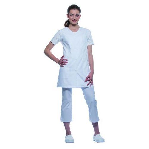 Karlowsky Tunika medyczna bez rękawów, rozmiar 56, biała | , sara