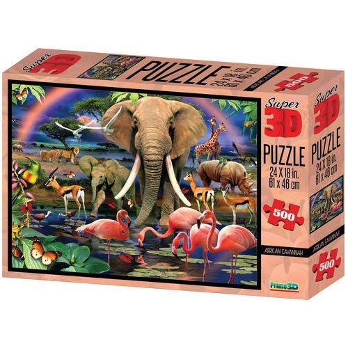 puzzle 3d safari 500 el. marki Lamps