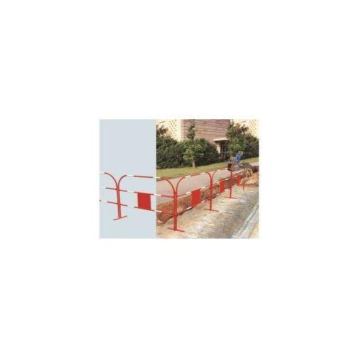 Barierka zabezpieczająca wykopy - typ Eco 1500, czerwona, 100510