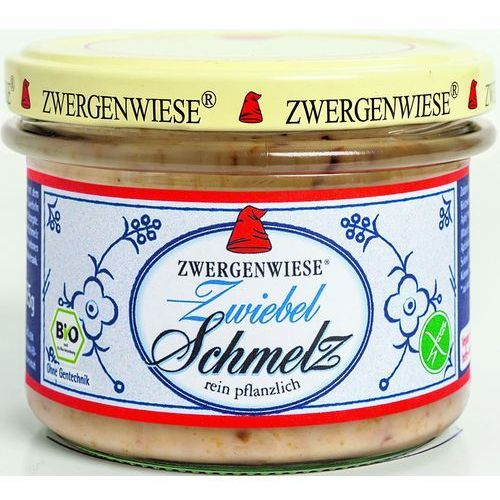 Zwergenwiese Smalczyk wegetariański z cebulą bio 4 x 165g bezglutenowy (4019736005056)