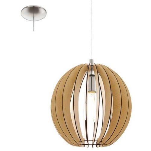 Eglo Lampa wisząca cossano śr. 30 cm - jasna, 94764