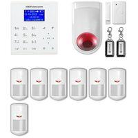 Erda electronic Alarm gsm + wifi e8 r7 + syrena bezprzewodowa 120 db - alarm bezprzewodowy expanda r7 + syrena bezprzewodowa 120 db
