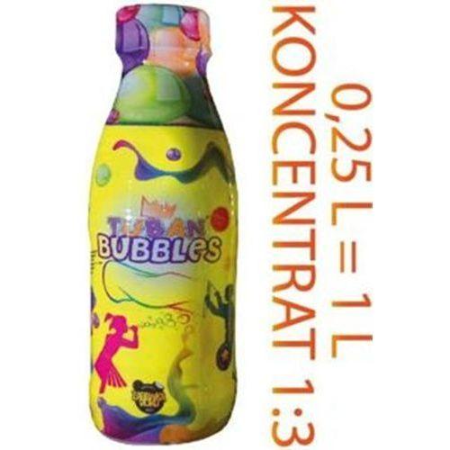 Koncentrat płynu do baniek mydlanych  - (250ml=1l) marki Tuban
