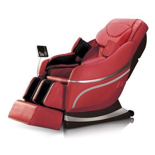 Insportline Fotel do masażu mateo czary - kolor czerwony (8595153676889)