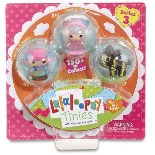 LALALOOPSY Tinies 3Pack Style 5 (0035051534204)