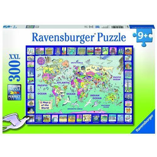 Puzzle 300 elementów Spojrzenie na świat (4005556131907)