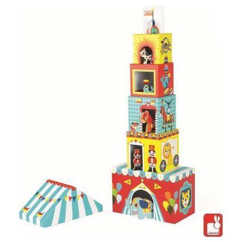 JANOD Piramida, wieża ze zwierzątkami - Cyrk