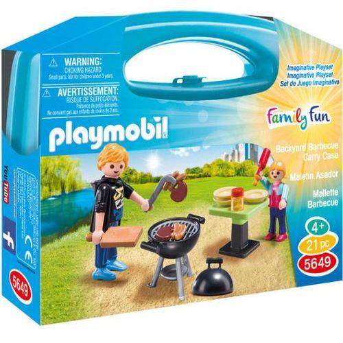 Playmobil WALIZKA Skrzyneczka barbecue 5649 - BEZPŁATNY ODBIÓR: WROCŁAW!