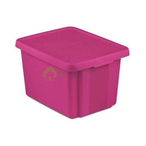 Pojemnik Essentiale z pokrywą fioletowy 26l