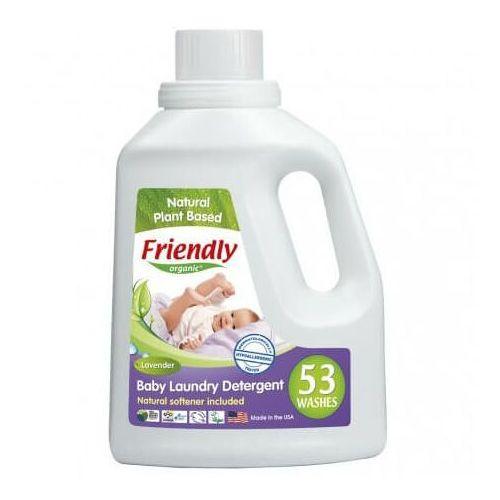 Friendly organic , płyn do prania ubranek dziecięcych, lawendowy, 1567 ml, 53 prania