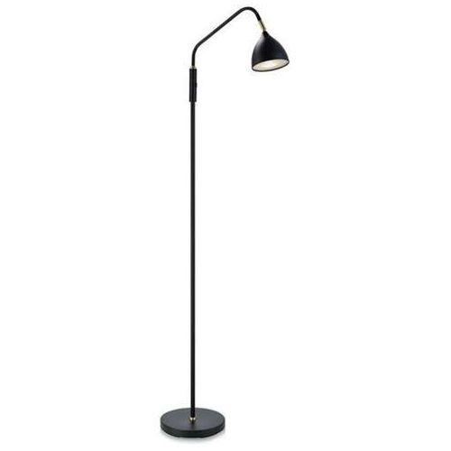 Lampa podłogowa valencia 106079 oprawa metalowa czarna marki Markslojd