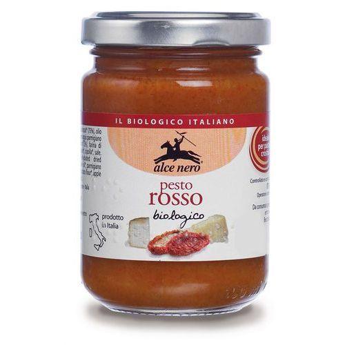Alce nero Pesto czerwone z suszonych pomidorów bio 6x130g (8009004850217)