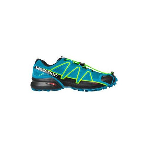 Buty speedcross 4 cs - mykonos blue/hawaiian surf/lime punch marki Salomon