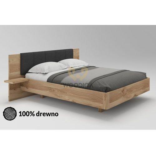 Łóżko dębowe lewitujące 01 160x200 marki Woodica