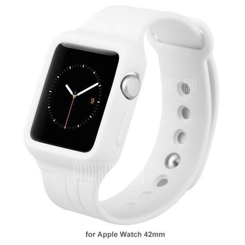 Baseus TPU Strap Watch Band Back Cover for Apple Watch iWatch 42mm