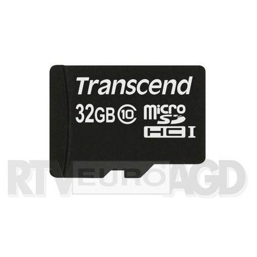 Transcend microSDHC Class 10 32GB - produkt w magazynie - szybka wysyłka!