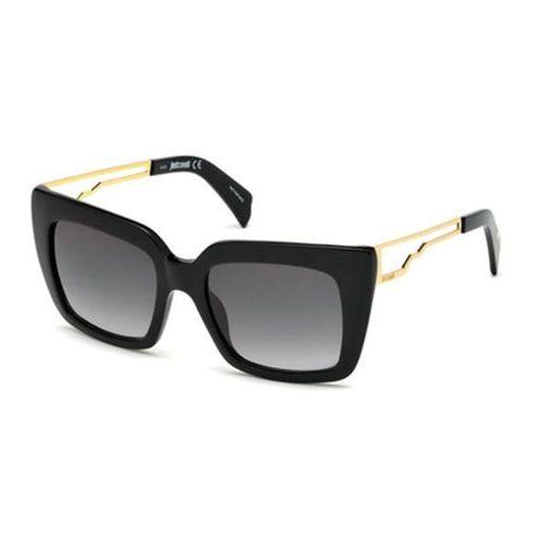 Okulary Słoneczne Just Cavalli JC 792S 01B, kolor żółty