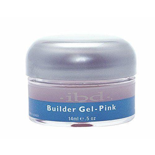 Ibd nail treatments pink żel builder, 1er pack (1 x 14 ml)