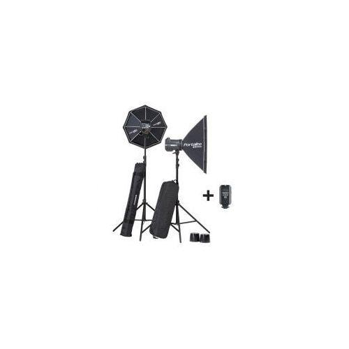 Zestaw lamp błyskowych Elinchrom BRX 500/500 softboxy + statywy NEW! - sprawdź w wybranym sklepie
