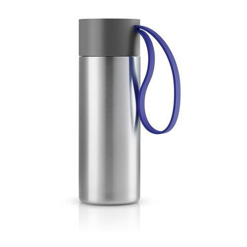 Stalowy kubek termiczny To Go Cup, electric blue - Eva Solo, kolor Stalowy