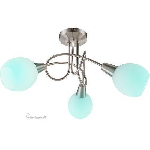 Globo Plafon lampa oprawa sufitowa elliott 3x3,5w e14 rgb led satyna 54351-3rgb (9007371339075)