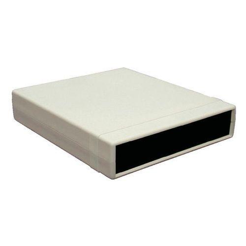Obudowa urządzeń, polistyren 157 x 94 x 36  1598asgypbk, 1 szt. wyprodukowany przez Hammond electronics