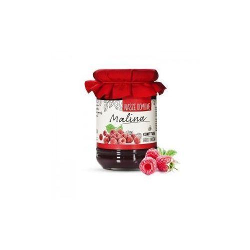 Premium rosa Konfitura domowa z malin 320g