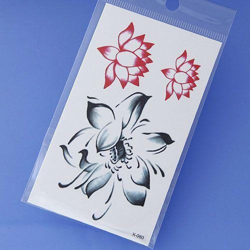Naklejki tatoo sticker flower - FLOWER z kategorii Pozostała biżuteria