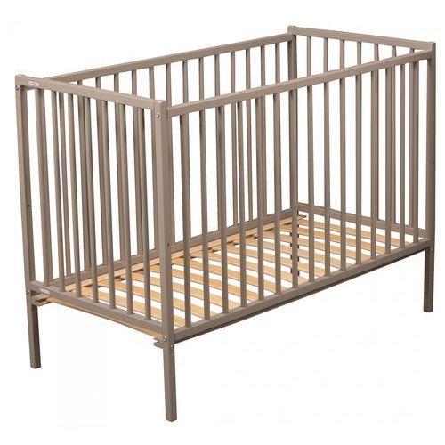 Candide łóżeczko dziecięce combelle remi 60x120cm, szare (3103941060007)