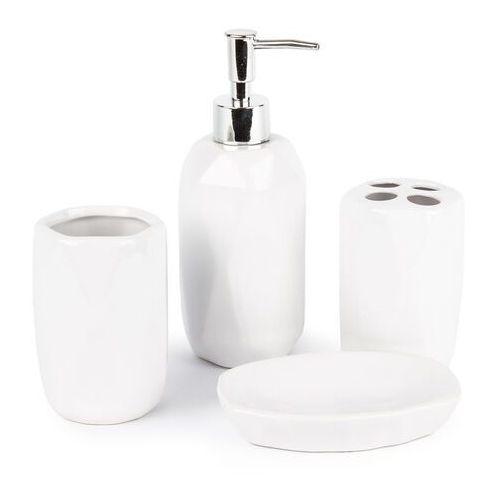 4-home Zestaw łazienkowy dolomite, biały