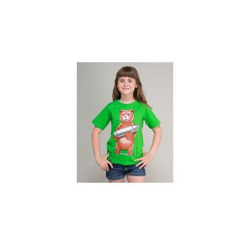 Koszulka dziecięca surge miś wojtuś zielona (k.sur.1298) marki Surge polonia