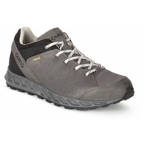 męskie buty turystyczne rapida nbk gtx 792173 9.0 czarny/szary marki Aku